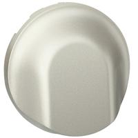 Céliane - Enjoliveur titane - Sortie de câble / Obturateur Legrand