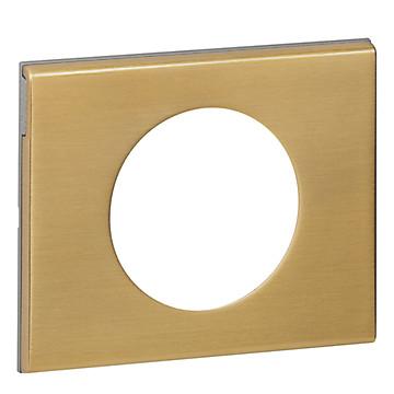 Céliane - Plaque Matières - Bronze doré LEGRAND