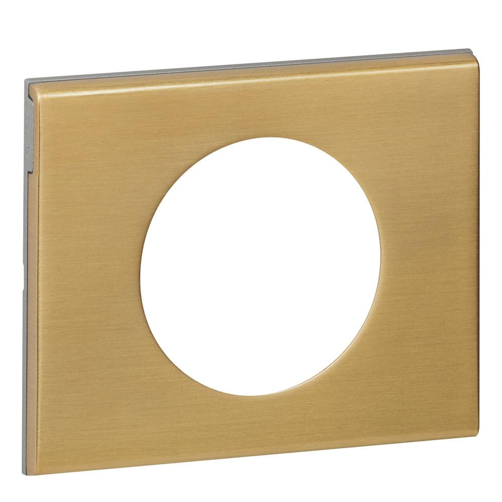 Céliane - Plaque Matière - Bronze doré Legrand