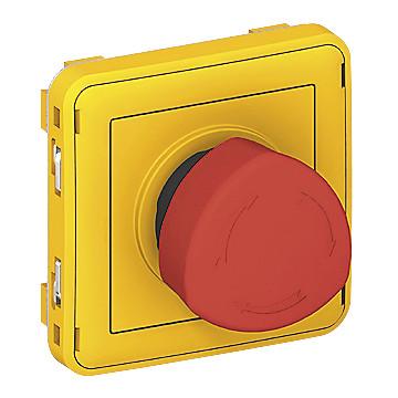 Boîte équipée d'un arrêt d'urgence Legrand