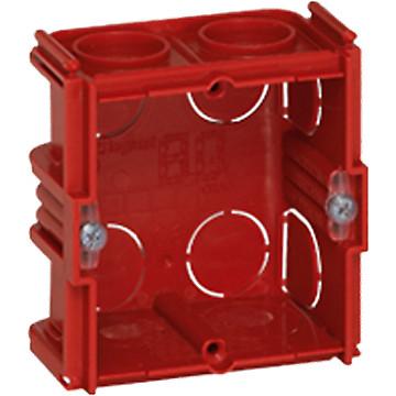 Boîte maçonnerie Batibox carrée à sceller associable Legrand