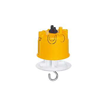 Boîte point de centre DCL Batibox Ø 67 pour cloison sèche avec couvercle LEGRAND