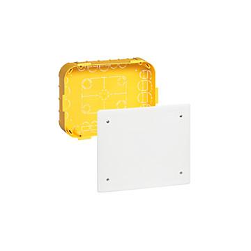 Boîte de dérivation cloison sèche Batibox avec couvercle Legrand