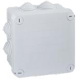 Boîte de dérivation Plexo carrée embouts à gradin