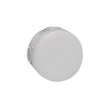 Boîte de dérivation ronde - Ø70 mm, ép. 45 mm - fermeture par enclipsage - gris Legrand