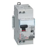 Disjoncteur différentiel PH+N DX³ 6kA Type AC - Courbe C