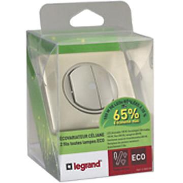 Céliane - Ecovariateur toutes charges 2 fils Legrand