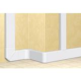Angle extérieur variable pour goulotte à clipage direct