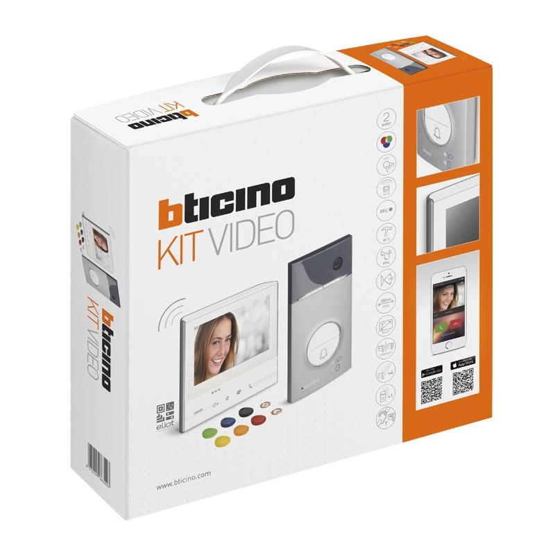 Kit portier vidéo couleur Classe 300 X13E connecté mains libres saillie Legrand