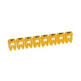 Repère CAB 3 lettres sur fond jaune 0,5 à 1,5 mm²