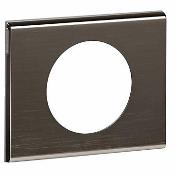 Céliane - Plaque Matière - Black Nickel Legrand