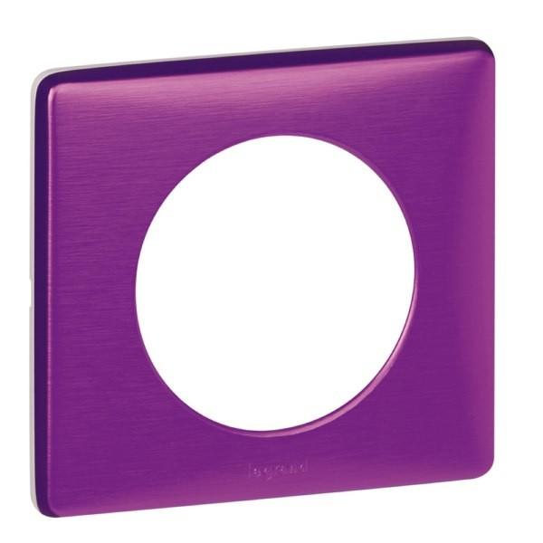 Céliane - Plaque Métal - Violet irisé Legrand