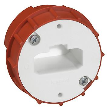 Boîte luminaire Batibox maçonnerie pour applique à bornes auto Legrand