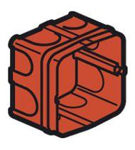 Boîte maçonnerie Batibox carrée à sceller 20/32A