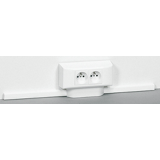 Moulure et accessoires DLPlus 16 x 40 - Blanc