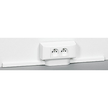 Moulure et accessoires DLPlus 20 x 40 - Blanc Legrand