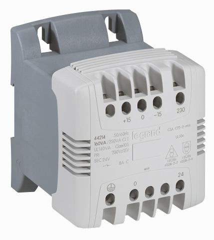 Transformateur de commande et de signalisation basse tension Legrand