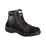 Chaussures hautes cuir noir Libert in