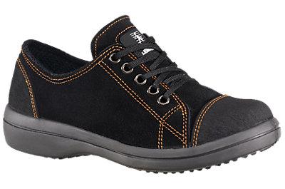 Chaussures de sécurité basses femme noires Vitamine S3 CI SRC