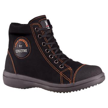 Chaussures de sécurité montantes femme noires Vitamine S3 CI SRC Lemaitre Sécurité