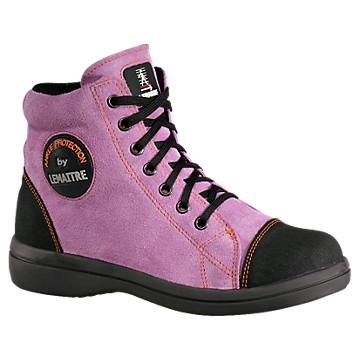 Chaussures hautes lilas Vitamine Lemaître Sécurité