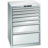 Armoire 7 tiroirs grise