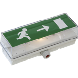 Bloc autonome d'éclairage de sécurité (BAES) non SATI à LED d'évacuation