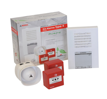 Kit Alarme incendie Type 4 Eaton