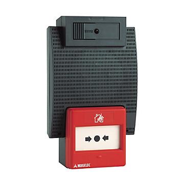 Coffret d'alarme incendie à piles - Type 4 Nugelec
