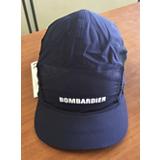 Enveloppe de rechange marine marquée Bombardier pour casquette visière longue