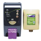 Pack Grittyfoam pour lavage des mains avec distributeur