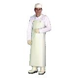 Tablier de protection nitrile blanc 90x115 Bravo