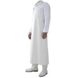 Tablier de protection polyuréthane blanc 90x115 Charlie