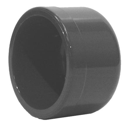 Bouchon PVC pression à coller Aliaxis