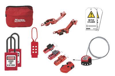 Kit de consignation général électrique et de fluide Maintkit-fr