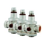 Lot de 3 réducteurs de pression femelle/femelle 20x27
