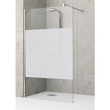 Paroi Luxo solution ouverte pour montage seul ou avec mobile verre sérigraphié MB Expert