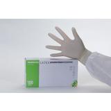 Gants latex naturel non poudrés