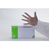 Gants vinyle micro poudrés