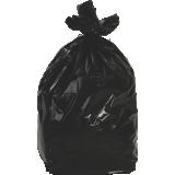 Sac poubelle noir 130L