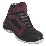 Chaussures de sécurité hautes aubergine Air Top