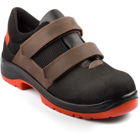 Chaussures basses Air Scratch - Noir/Orange Gaston Mille