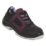 Chaussures de sécurité basses aubergine Air lace