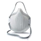 Masque jetable FFP3 NR D avec soupape Ventex boite de 16
