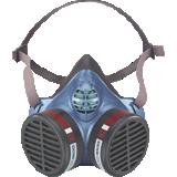 Masque jetable antigaz FFA2 5504