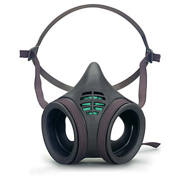 Demi-masque réutilisable antigaz série 8000 Moldex