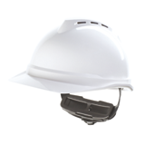 Casque de chantier blanc V-gard 500