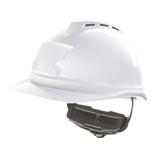 Casque de chantier blanc ventilé V-Gard 500