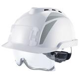 Casque industriel ventilé avec surlunettes intégrées V-Gard 930