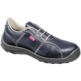 Chaussures de sécurité basses femme cuir hydrofuge bleu marine Sara S3